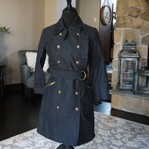 Juicy Couture Black Trench Coat